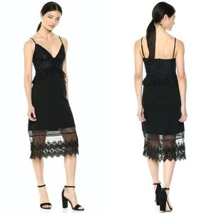 FRENCH CONNECTION Delos Lucky Lace Sheath Dress